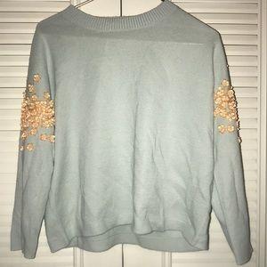 Aqua J Crew Sweater